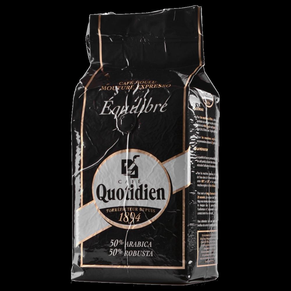 "Кофе в зернах Quotidien ""EQUILIBRE"" 1кг. (Segafredo Zanetti). - 2"