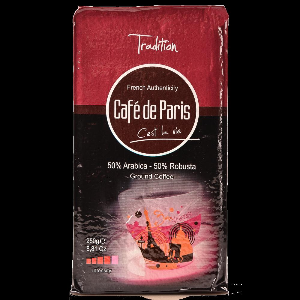 "Кофе молотый Cafe de Paris ""Tradition"" 250г. (Segafredo Zanetti). - 1"
