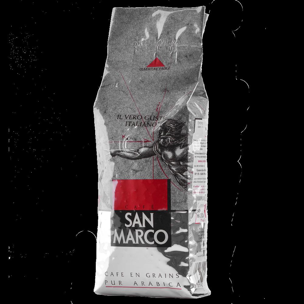 Кофе в зернах San Marco 100% Арабика 250г (Segafredo Zanetti) - 2