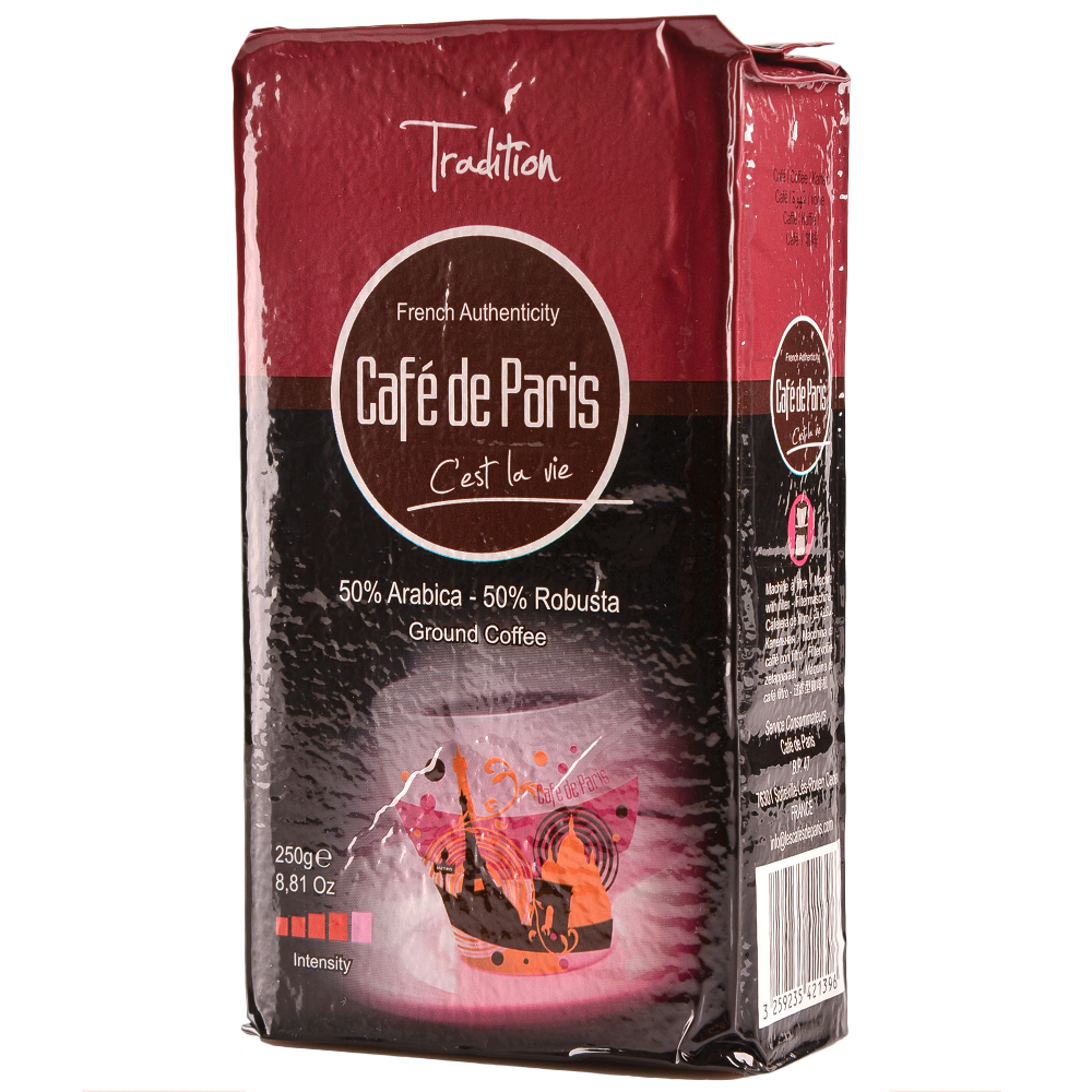 "Кофе молотый Cafe de Paris ""Tradition"" 250г. (Segafredo Zanetti). - 2"