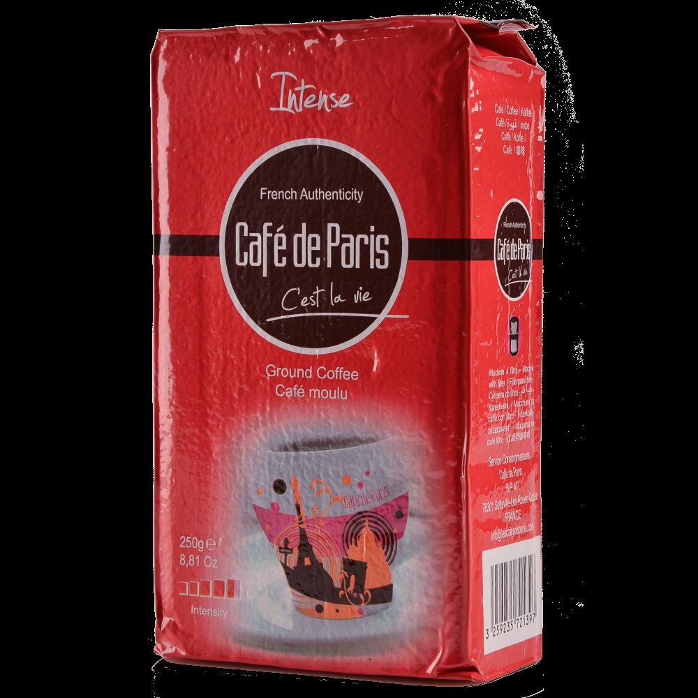 "Кофе молотый Cafe de Paris ""Intense"" 250г  (Segafredo Zanetti) - 2"