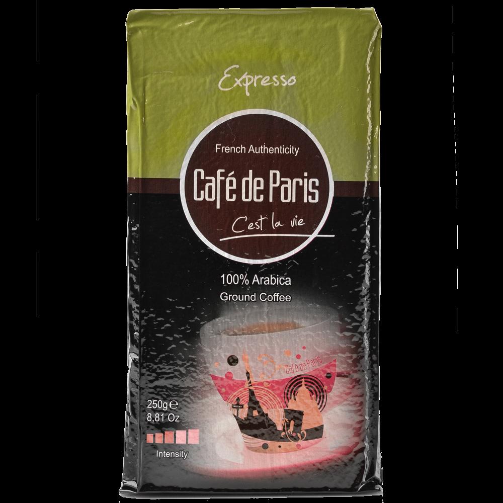 "Кофе молотый Cafe de Paris ""Expresso"" 250г  (Segafredo Zanetti). - 1"