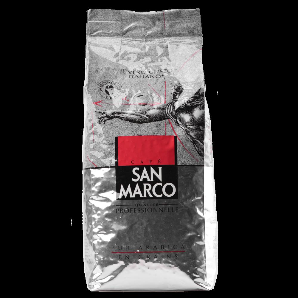 Кофе в зернах San Marco 100% Арабика, 1 кг.  (Segafredo Zanetti). - 1