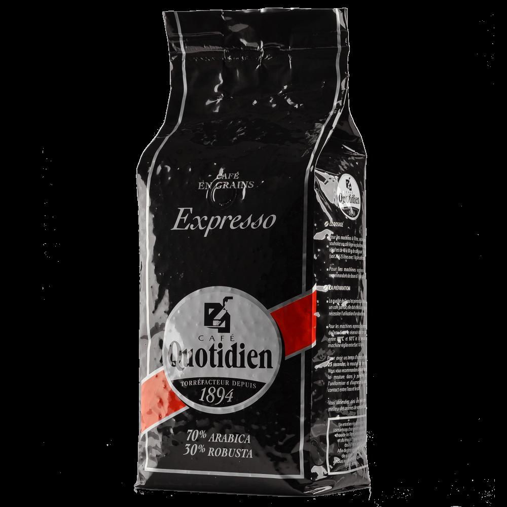 """Кофе в зернах Quotidien """"EXPRESSO"""" 1кг.  (Segafredo Zanetti). - 2"""