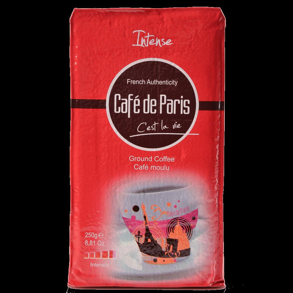 "Кофе молотый Cafe de Paris ""Intense"" 250г  (Segafredo Zanetti) - 1"