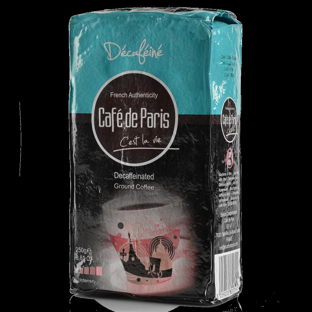 "Кофе молотый Cafe de Paris  ""Decafeine""  250г (Segafredo Zanetti) - 2"