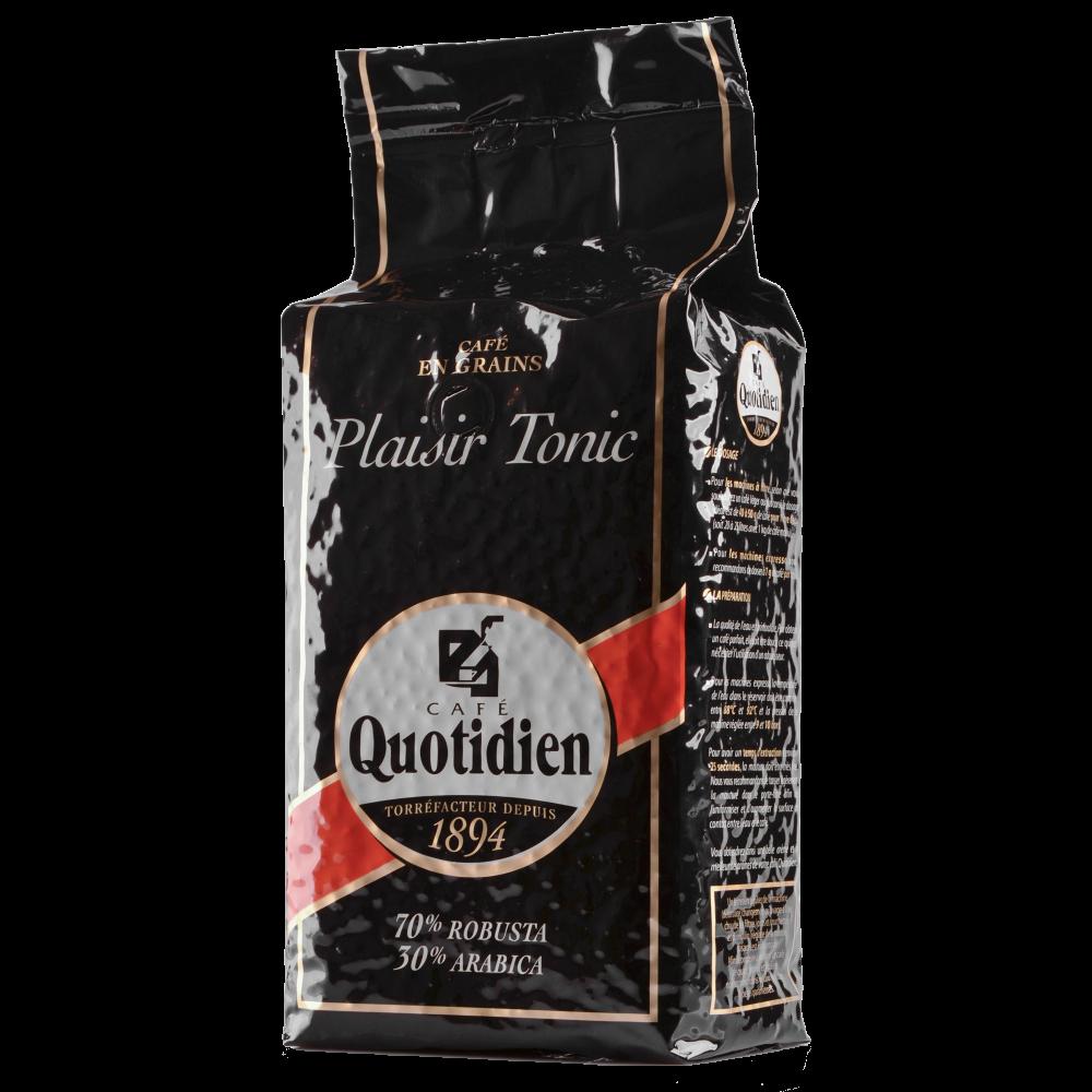 "Кофе в зернах Quotidien ""PLAISIR TONIC"" 1кг. (Segafredo Zanetti). - 2"