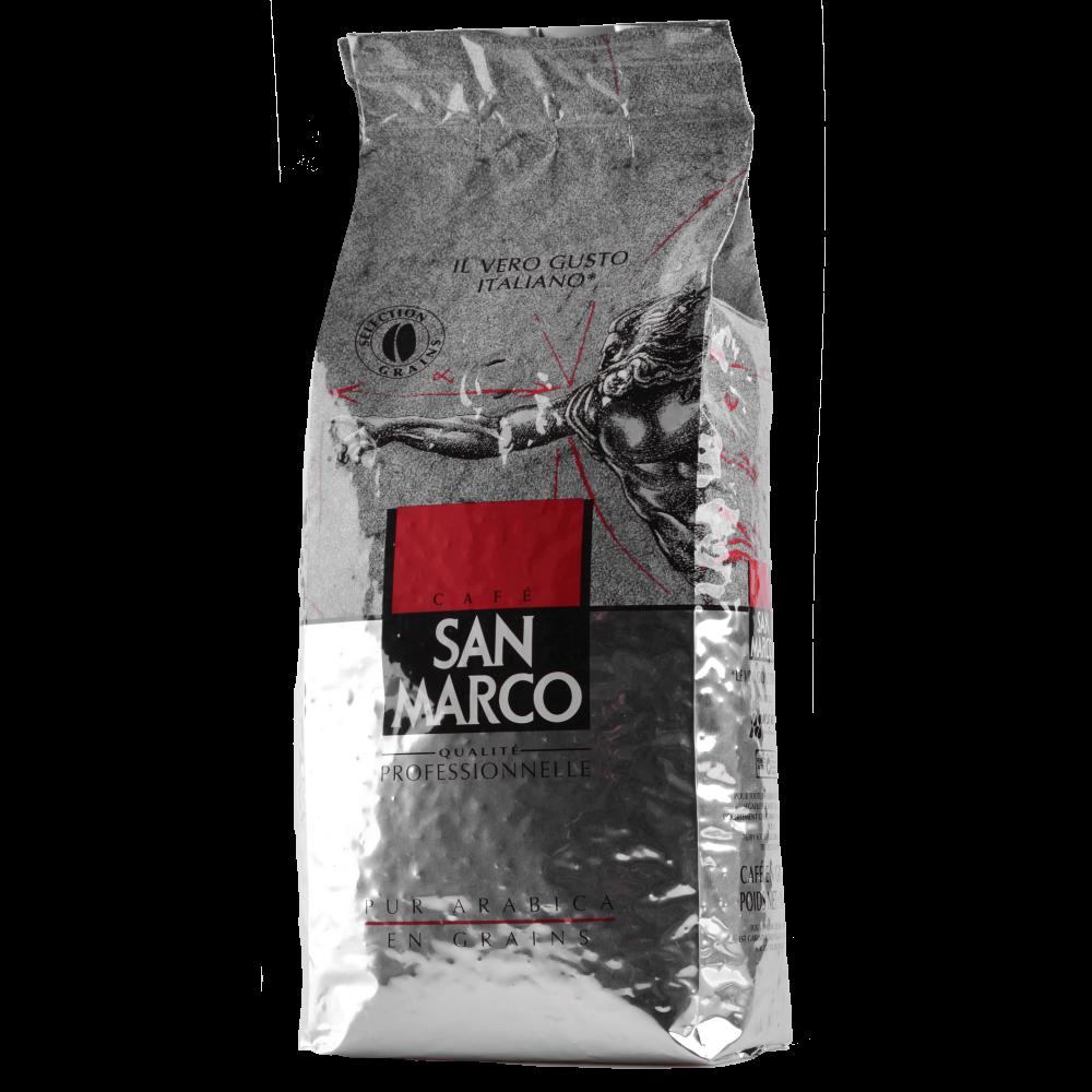 Кофе в зернах San Marco 100% Арабика, 1 кг.  (Segafredo Zanetti). - 2
