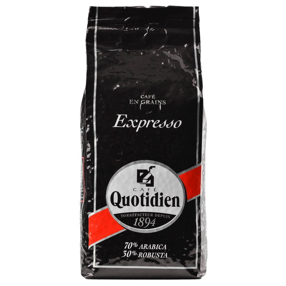 """Кофе в зернах Quotidien """"EXPRESSO"""" 1кг.  (Segafredo Zanetti). - 1"""