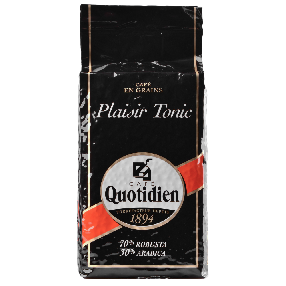 "Кофе в зернах Quotidien ""PLAISIR TONIC"" 1кг. (Segafredo Zanetti). - 1"