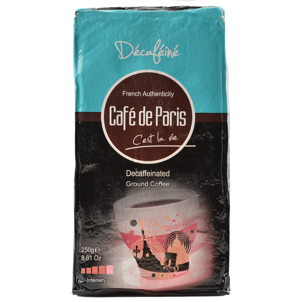"Кофе молотый Cafe de Paris  ""Decafeine""  250г (Segafredo Zanetti) - 1"